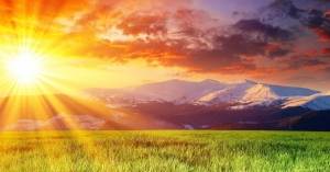 Dawn of sun